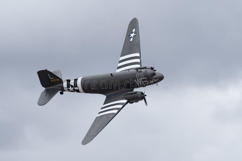 C-47 Skytrain de Douglas fotografia de stock