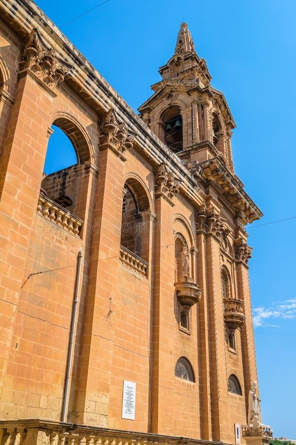 Côté d'église de St Publius photo libre de droits