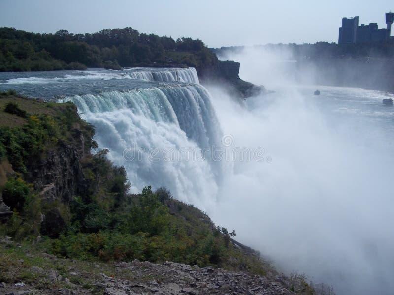 Côté d'Américain de Niagara Falls photo stock