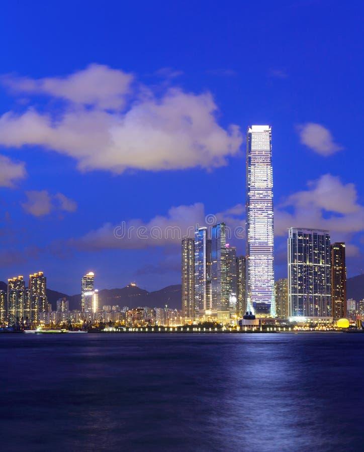 Côté de Kowloon à Hong Kong photo stock