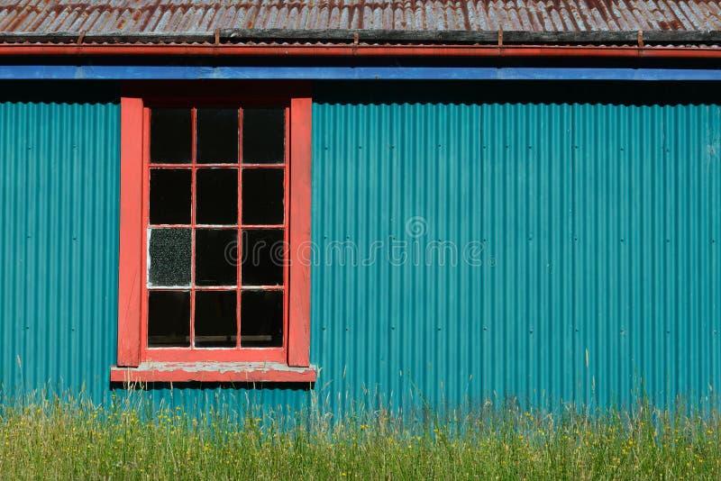 Côté de la grange photos stock
