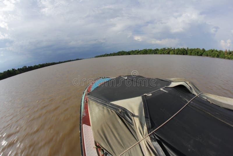 Côté de rivière images libres de droits