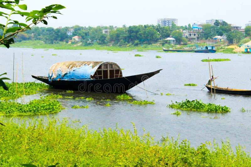 Côté de rivière de Savar, Bangladesh photos libres de droits
