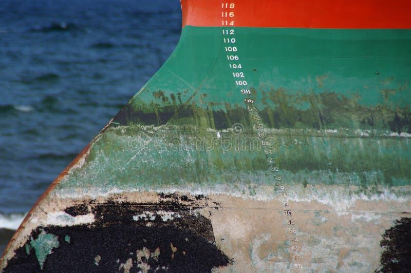 Côté du ` s de bateau images libres de droits