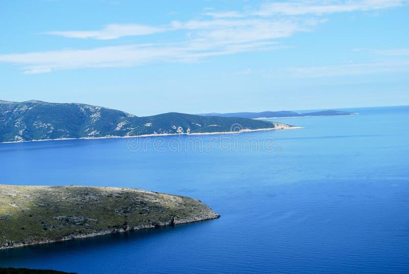 Côte adriatique photo libre de droits