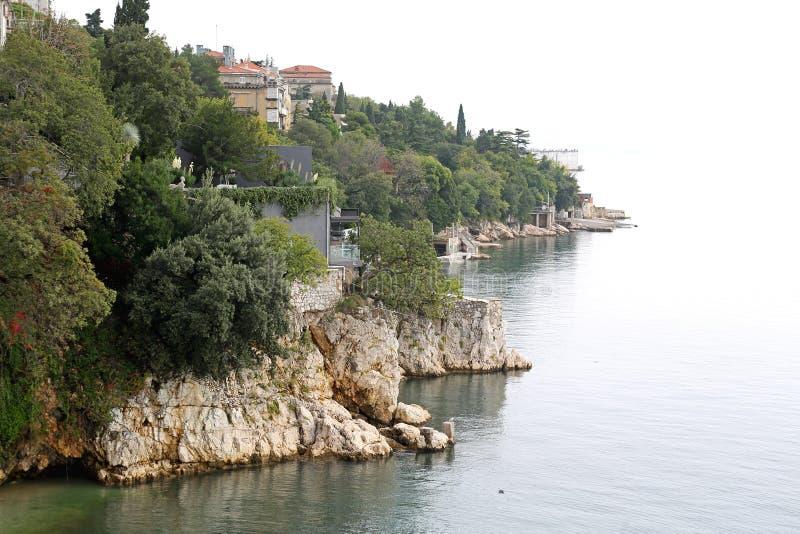 Côte adriatique images libres de droits