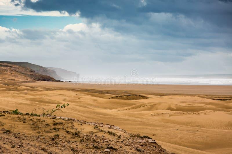 Côte atlantique, Maroc photos stock