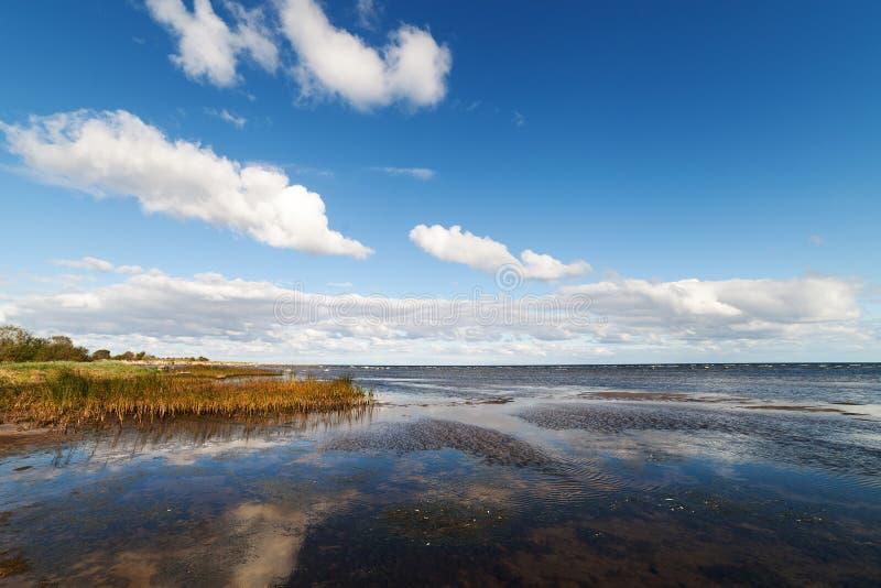 Côte baltique image libre de droits