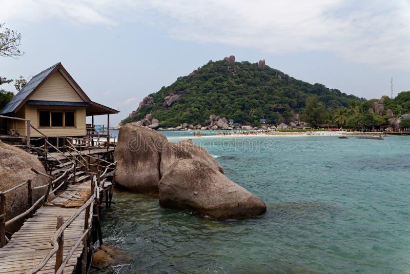Côte d'île de Tao, Thaïlande image libre de droits