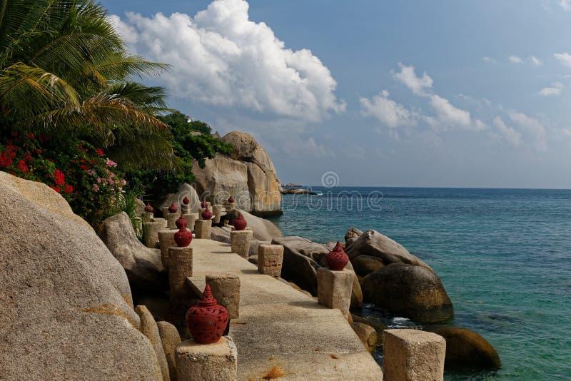 Côte d'île de Tao, Thaïlande photographie stock libre de droits
