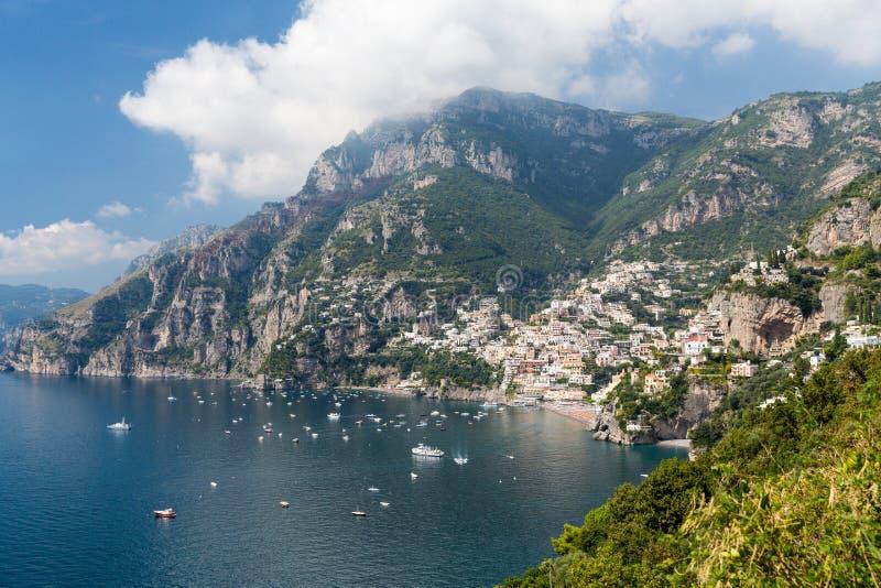 Côte d'Amalfi en Italie images stock