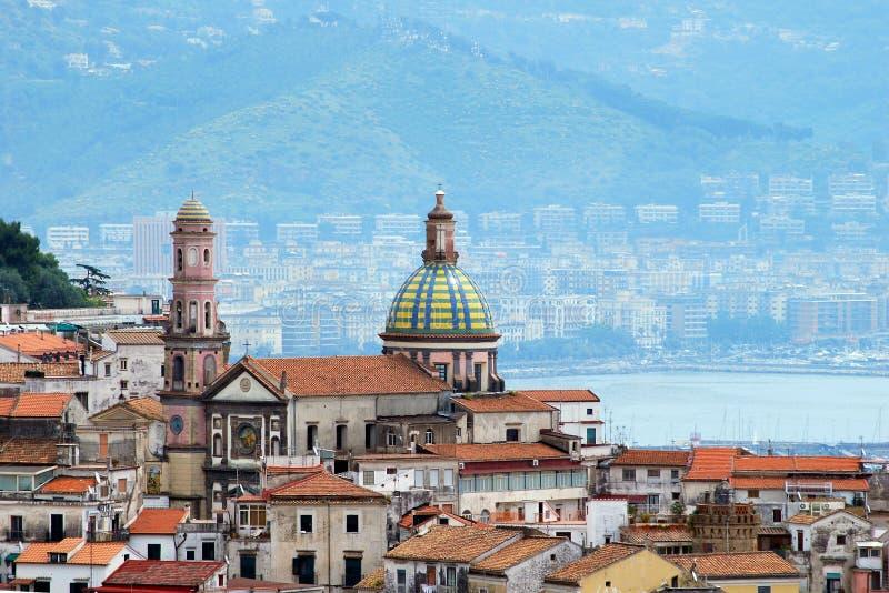 Côte d'Amalfi, jument de sul de Vietri de ville image stock