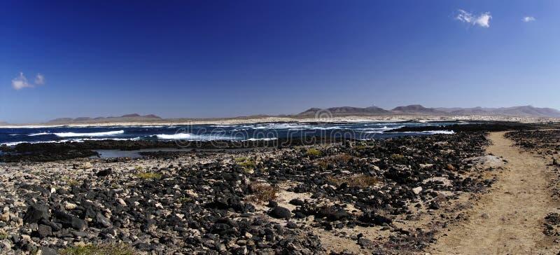 Côte d'EL Cotillo - Fuerteventura photos libres de droits