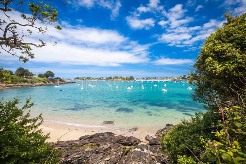 Côte de Brittany photo stock