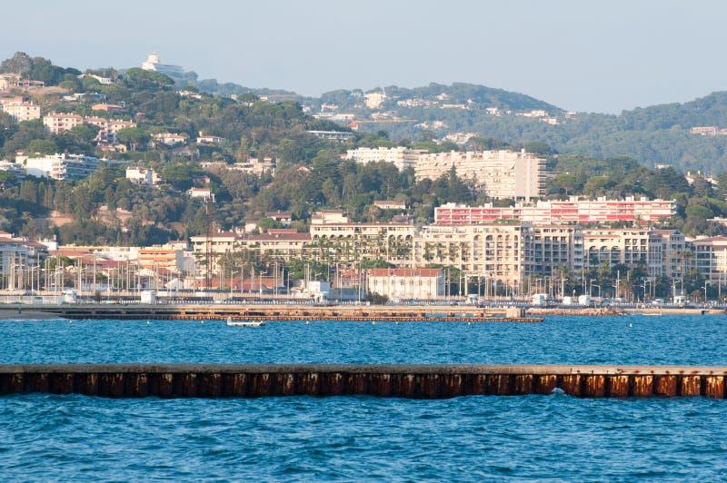 Côte de Cote d'Azur image stock