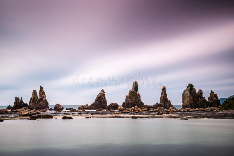 Côte de Kushimoto, Japon image stock
