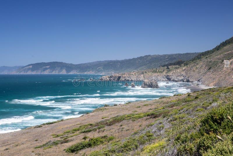 Côte 3 de la Californie du nord photographie stock
