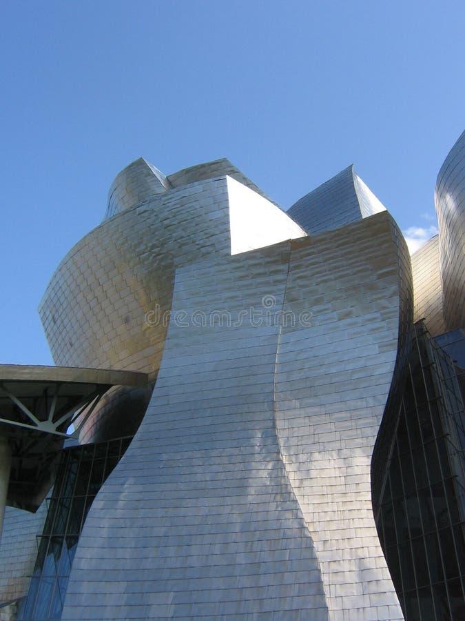 Musée Guggenheim royalty-vrije stock afbeeldingen