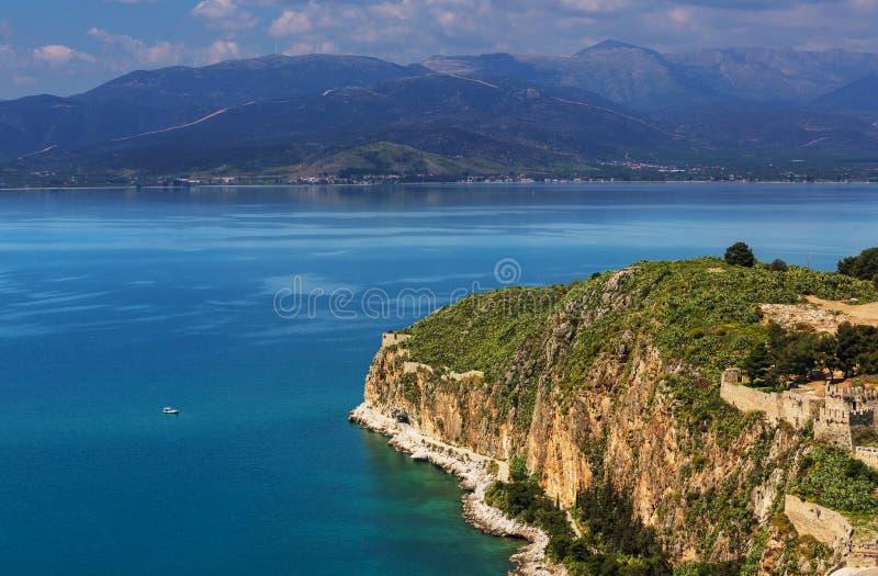 Côte de la Grèce images stock