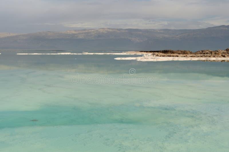 Côte de la mer morte photo stock