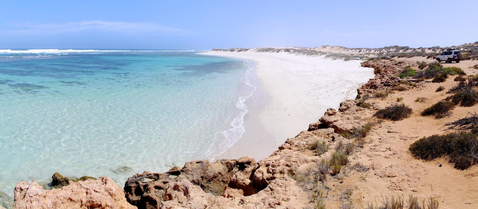 Côte de Ningaloo, Australie occidentale images libres de droits