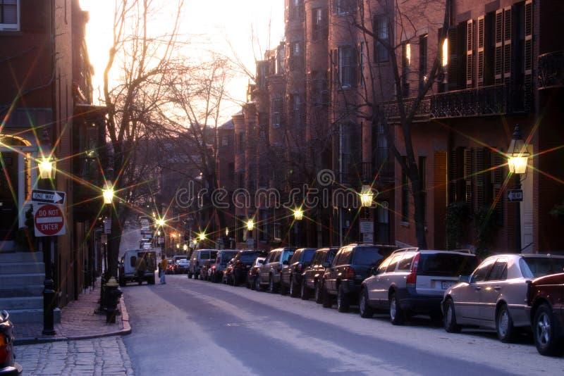 Côte de radiophare, Boston photo libre de droits