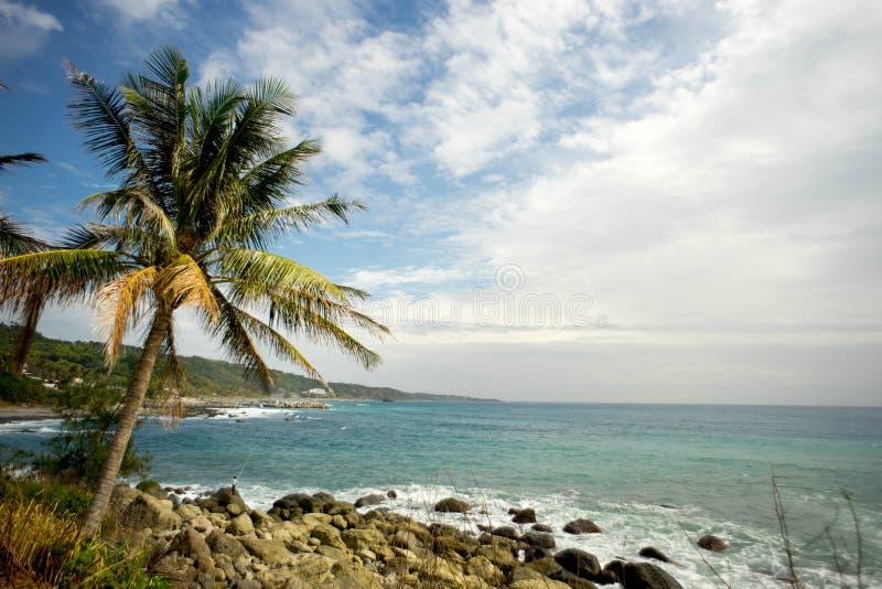 Côte de Taitung photo libre de droits