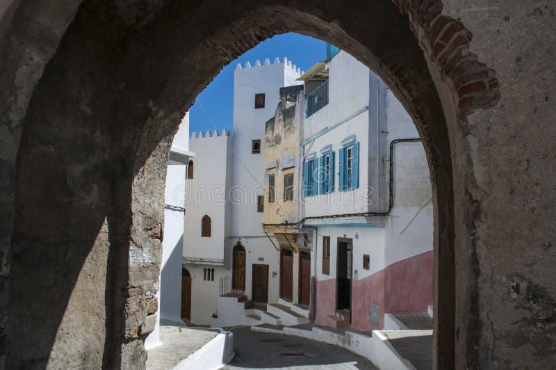 Côte de Tanger, Tanger, Tanger, Maroc, Afrique, Afrique du Nord, le Maghreb, détroit du Gibraltar, la mer Méditerranée, l'Océan A photo libre de droits