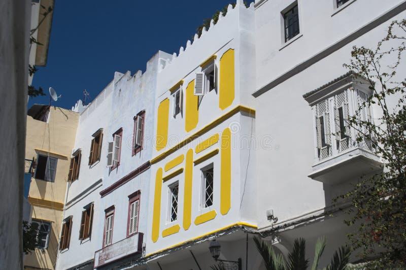 Côte de Tanger, Tanger, Tanger, Maroc, Afrique, Afrique du Nord, le Maghreb, détroit du Gibraltar, la mer Méditerranée, l'Océan A photographie stock