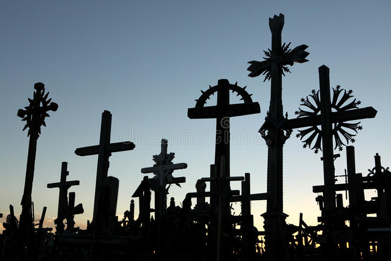 Download Côte Des Croix En Lithuanie Photo stock éditorial - Image du jésus, attraction: 76075033