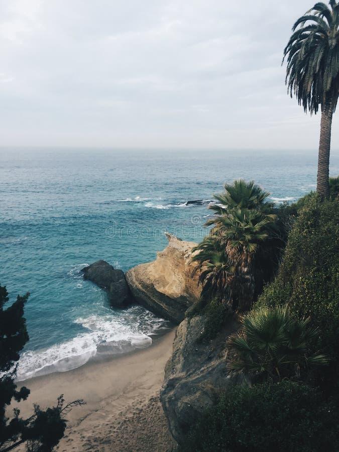 C?te m?ridionale de la Californie photos stock