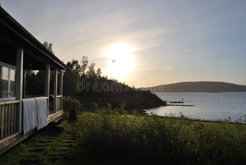 Côte ouest suédoise photos stock