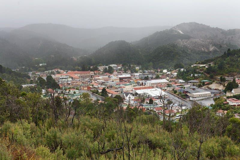 Côte ouest Tasmanie de Queenstown photo libre de droits