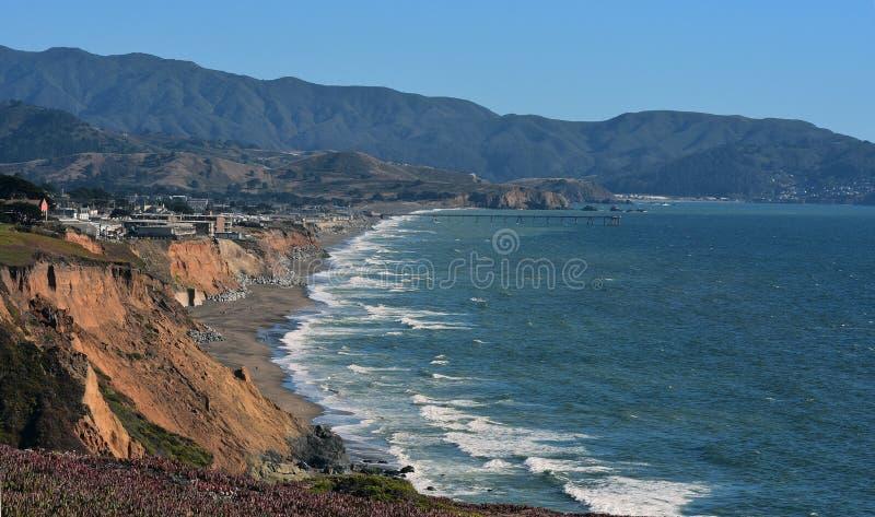 Côte Pacifique, Pacifica California images stock