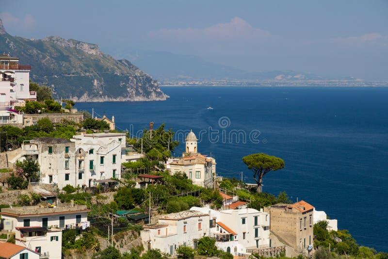 Côte pittoresque d'Amalfi image libre de droits