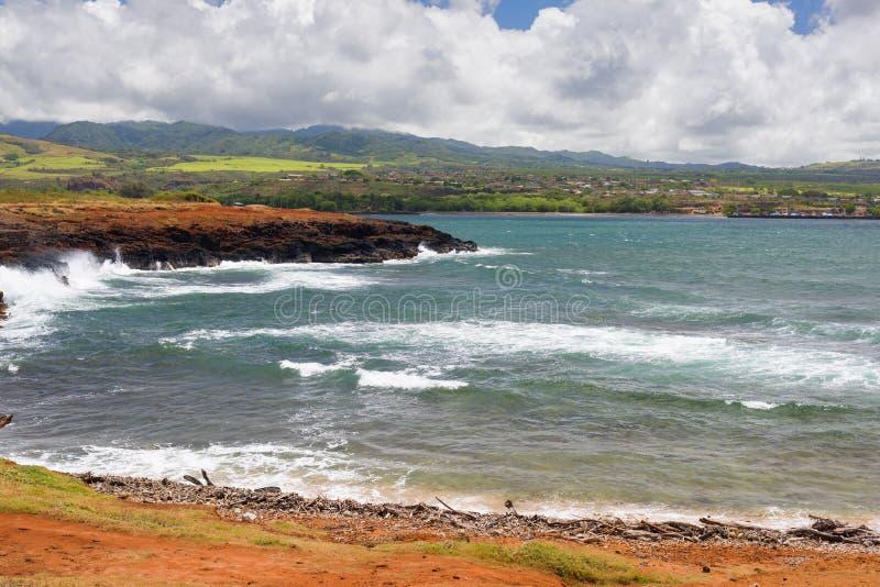 Côte sur l'île de Kauai photographie stock
