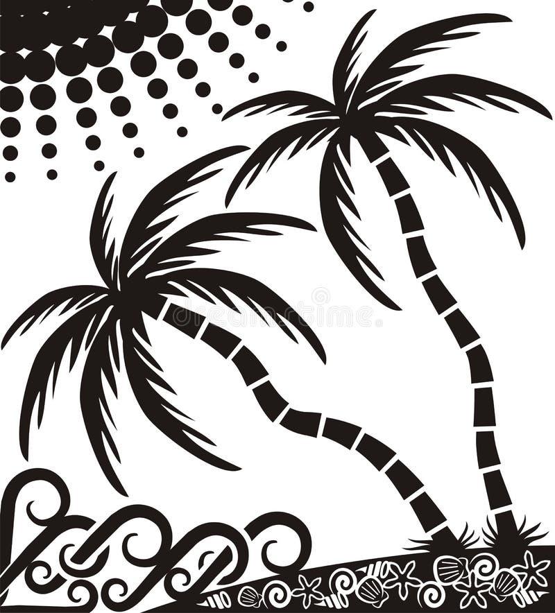 Côte tropicale images libres de droits