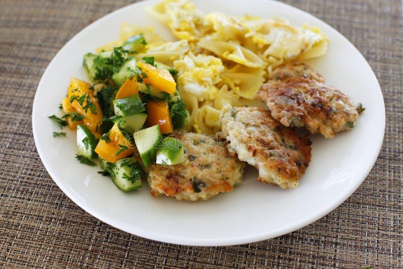 Côtelettes de poulet images stock