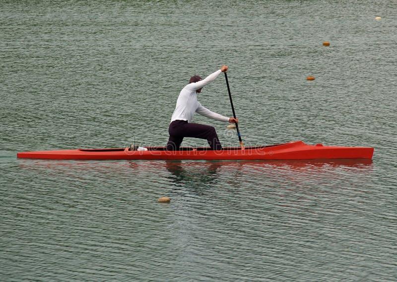 Download C1 - Canuist photo stock. Image du pratiquez, sports, bateau - 729026