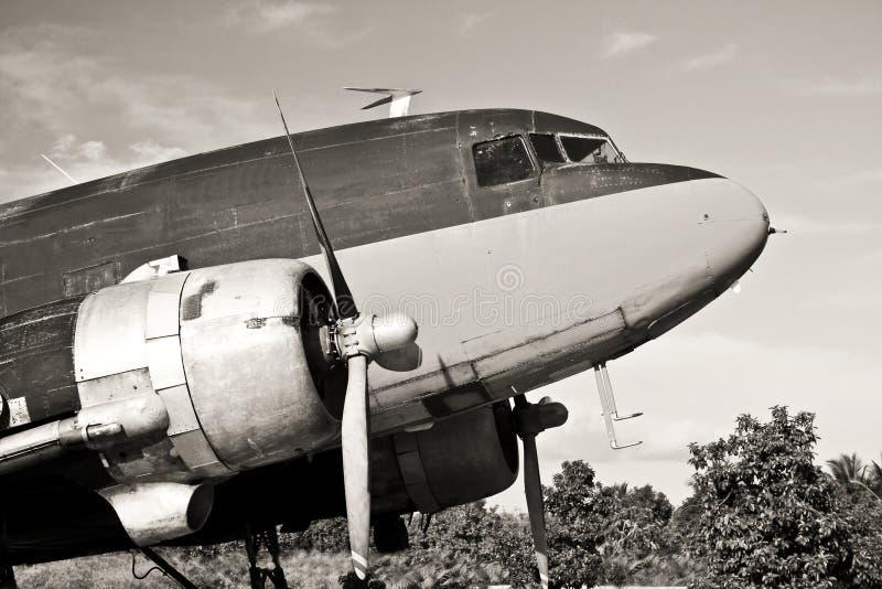 c47 αεροσκαφών τρύγος στοκ εικόνες