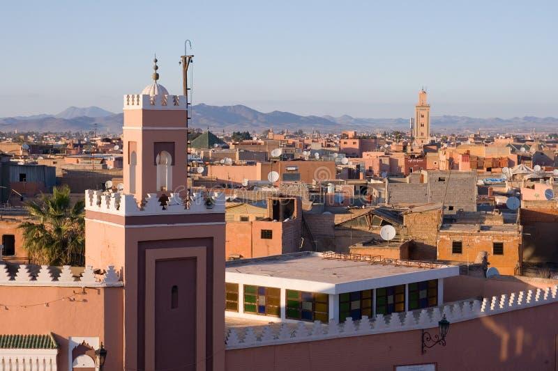 C4marraquexe Marrocos fotografia de stock royalty free
