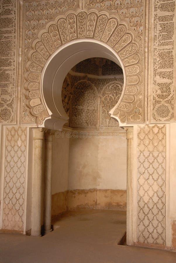 C4marraquexe, Marrocos foto de stock