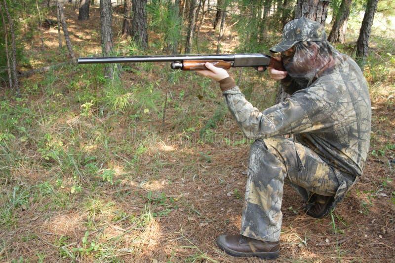 Caçador - caça imagem de stock