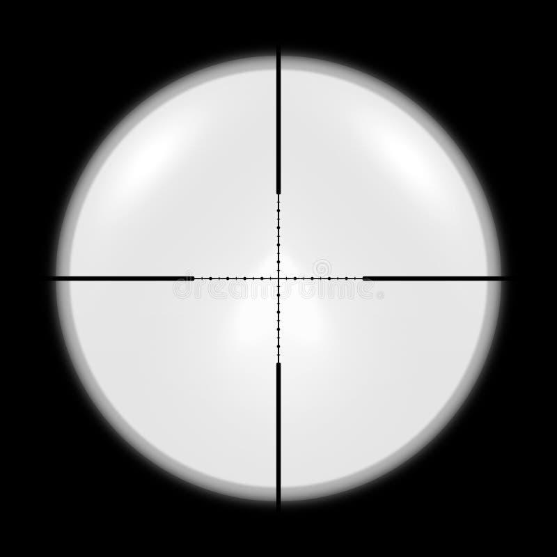 Caçador do espaço do atirador furtivo imagens de stock royalty free