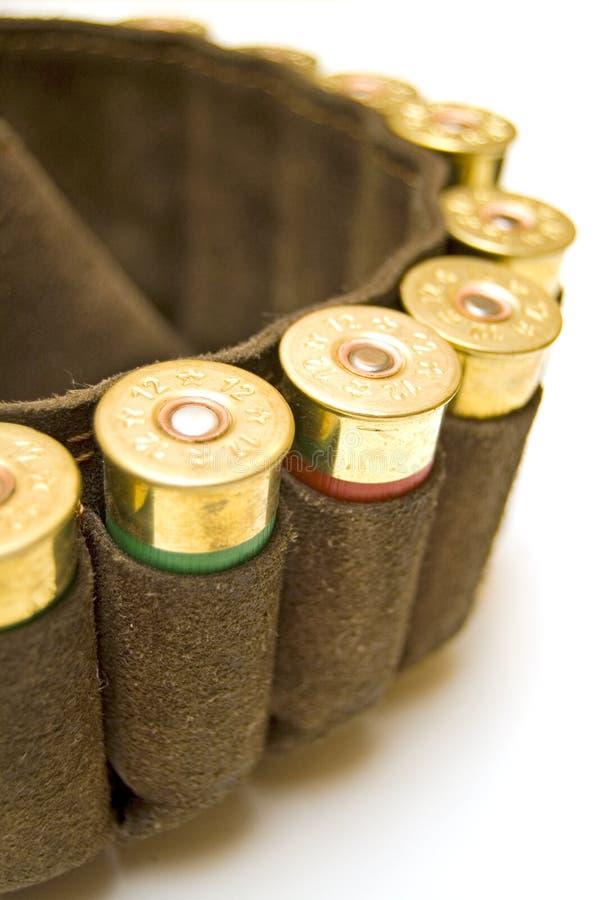 Download Caçador Do Holster Com Cartuchos Da Espingarda Foto de Stock - Imagem de armado, correias: 12806874