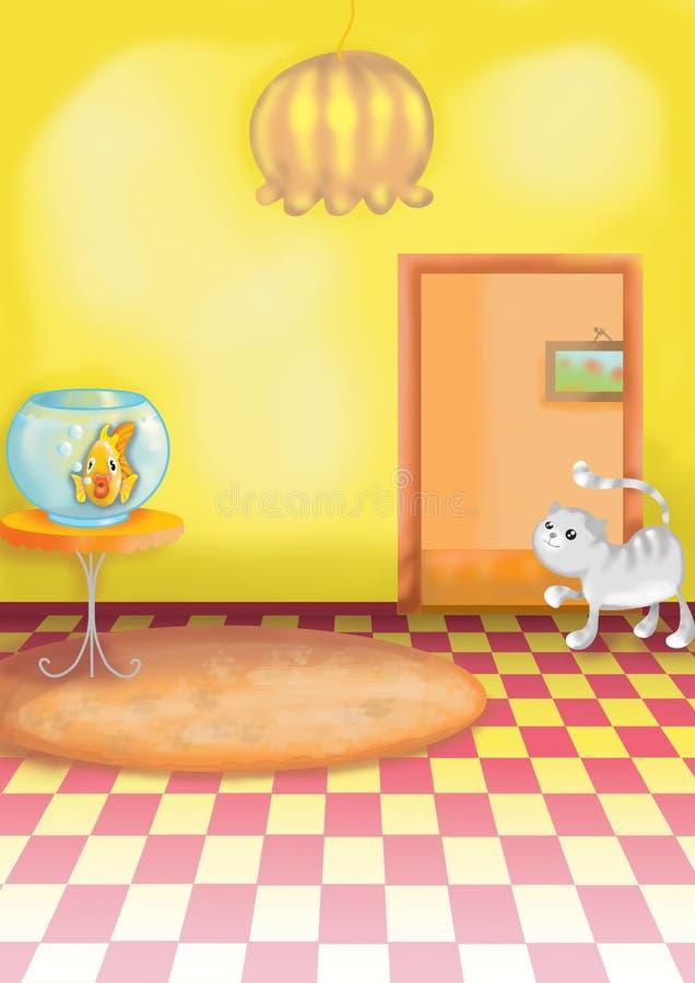 Caçoa a ilustração 06 ilustração royalty free