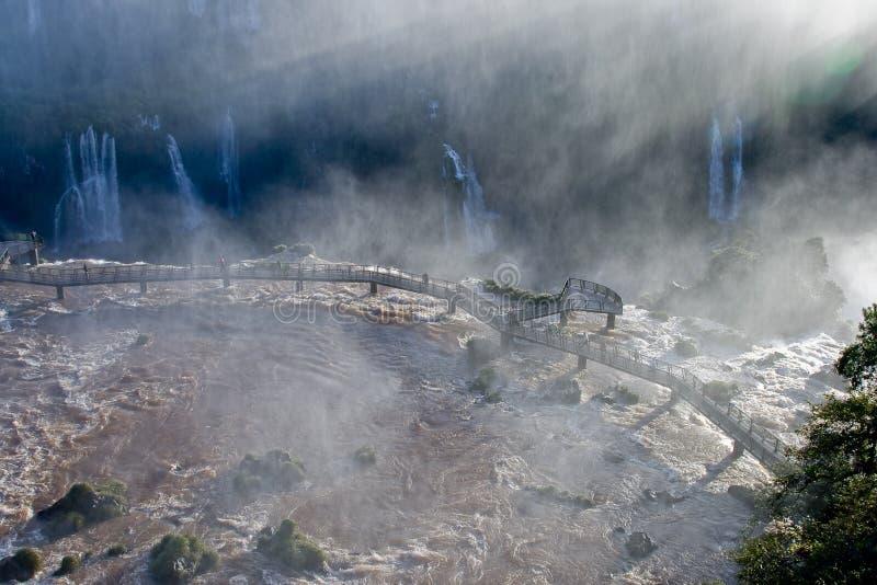 Caída de Iguazu fotos de archivo