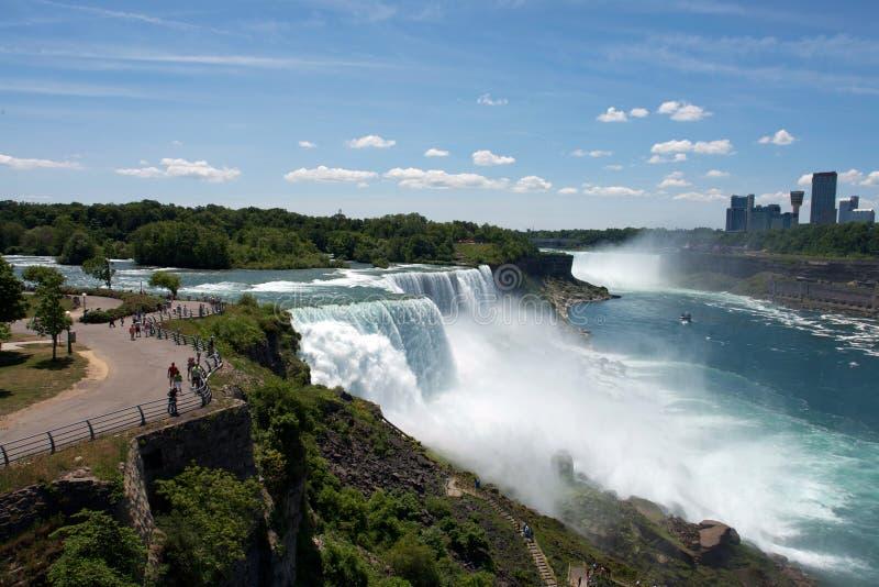 Caída de Niagara imagen de archivo