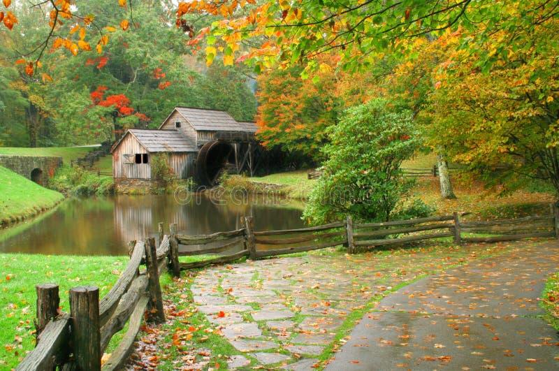 Caída de Virginia foto de archivo libre de regalías