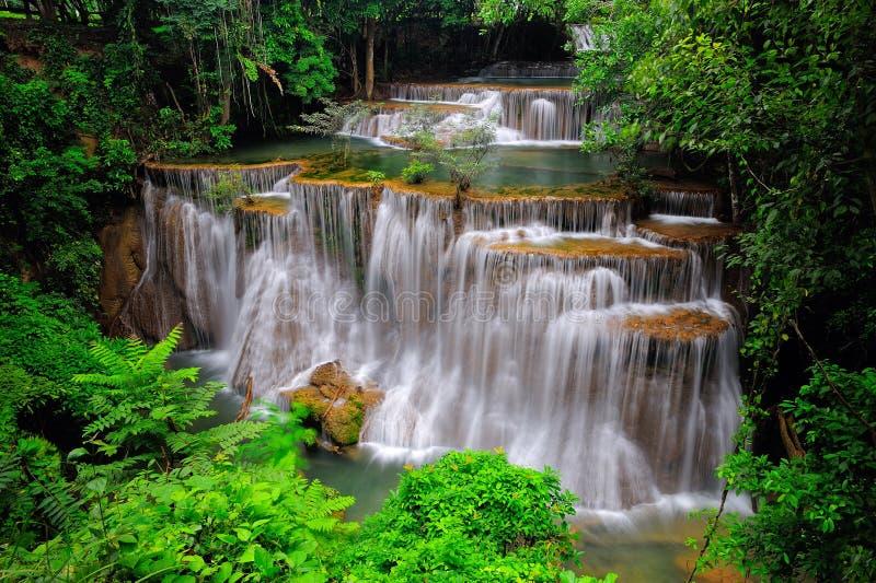 Caída del agua en Tailandia imagenes de archivo
